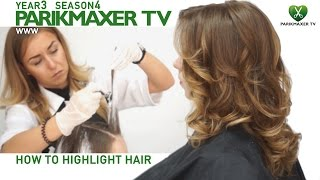 Мелирование на открытом воздухе How to highlight hair парикмахер тв parikmaxer.tv(Техника мелирования на открытом воздухес подчеркиванием декраше Это такой вид мелирования, при котором..., 2014-10-02T13:43:47.000Z)