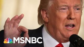 President Trump Repeatedly Talks About Himself At Marathon News Conference | The 11th Hour | MSNBC