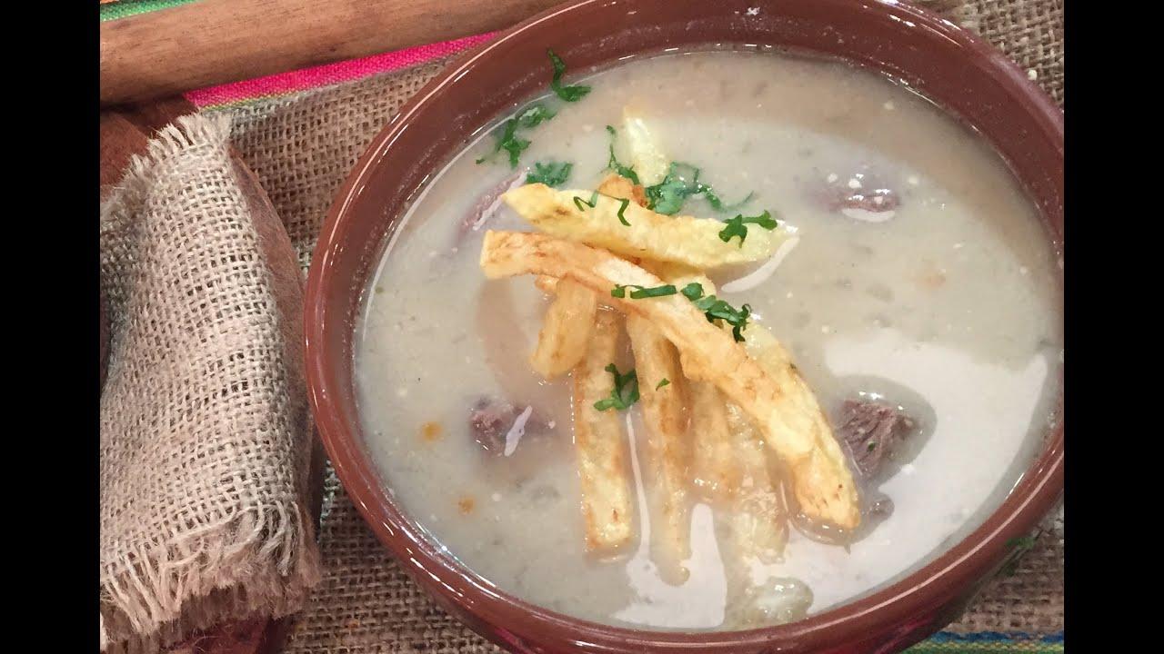 Sopa de maní de Elba