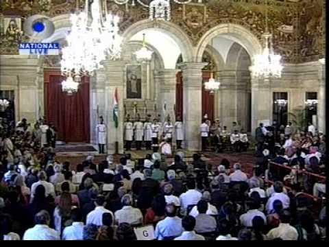 President Confers Padma Awards 2012 2nd Round  3rd April 2012 at Ashok Hall Rastrapati Bhavan.