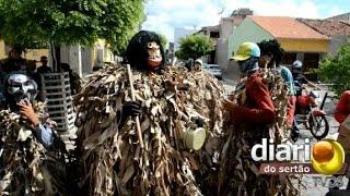 Caretas tomam as ruas da Cidade de Cajazeiras na semana santa