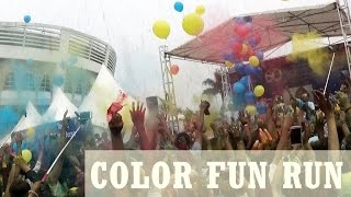 COLOR FUN RUN IN PEKANBARU