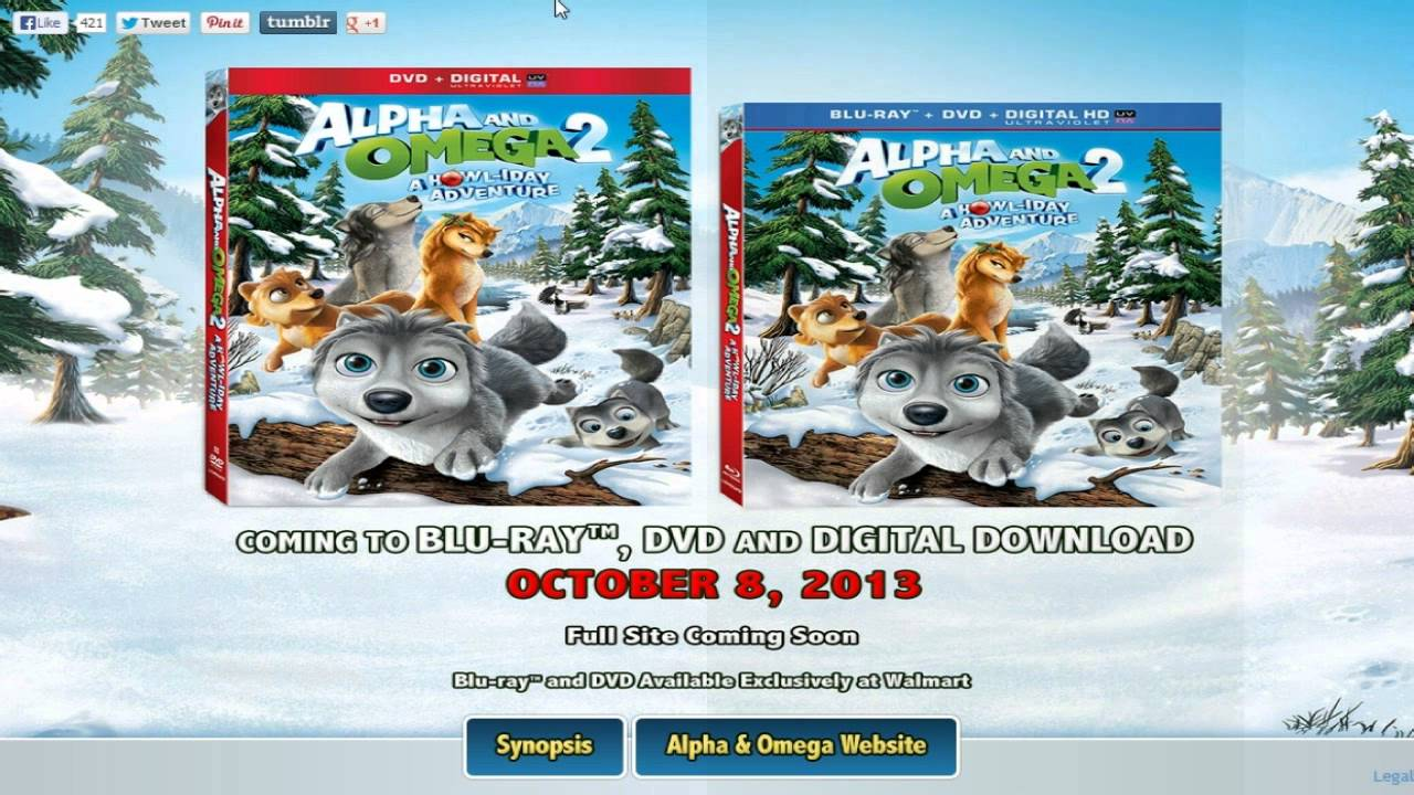 Download Alpha and Omega 2: A Howl-iday Adventure (SEQUEL ANNOUNCED!)
