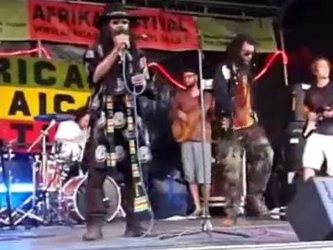 African Jamaican Culture live Karlsruhe 2014 (Video captured with a Smartphone)