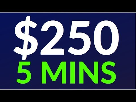 Earn $250 in 5 Mins NOW! (Easy Way To Make Money Online)