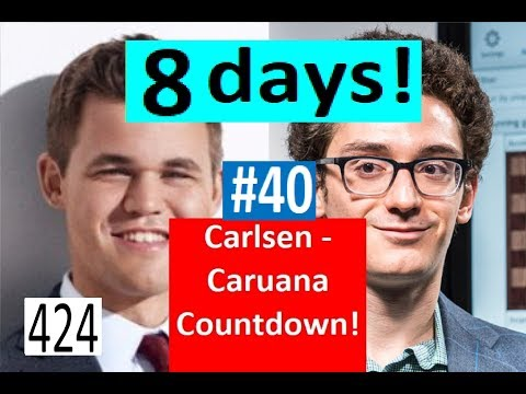 8 days to Carlsen-Caruana! ¦ Anand felt the need for some action!