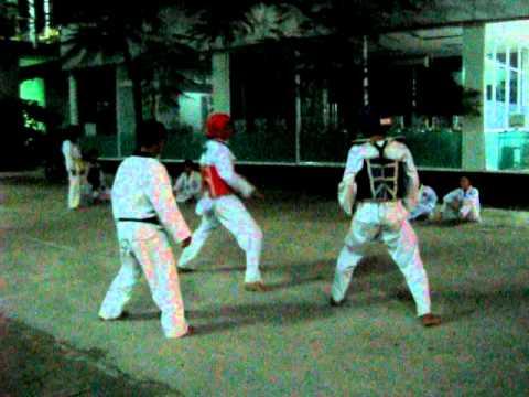 đấu taekwondo 1