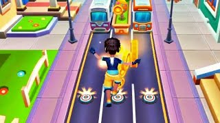 Subway Princess👰 Runner: Kalvin🦹Outfit Character Run    Subway surfers    Run Game in Android phone📱