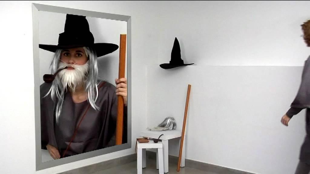 Cómo elaborar un disfraz de Gandalf - YouTube 1bab0f71c32