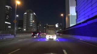 阪神高速1号環状線 東船場JCT~ 2017.01.28