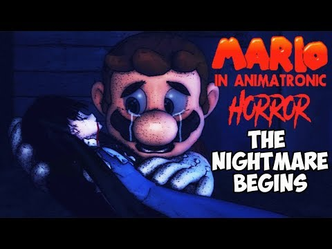 MARIO IN ANIMATRONIC HORROR -THE NIGHTMARE BEGINS CHAPTER 3 END - YOU'LL SWIM WITH THE FISH FOR THIS