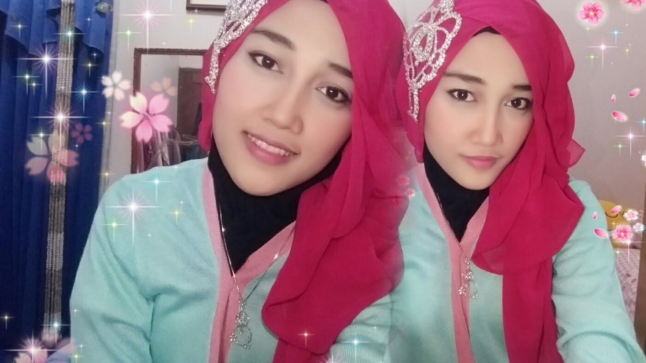 Tutorial Hijab Pashmina Untuk Ke Pesta Party YouTube