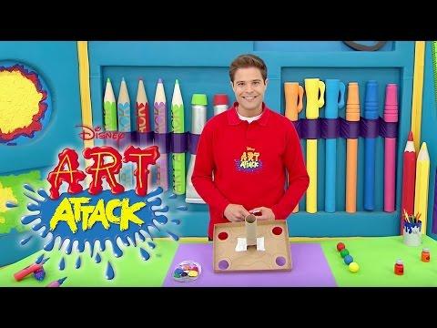 Art Attack Bastelclip #5 - Das Kugelbeben   Disney Junior