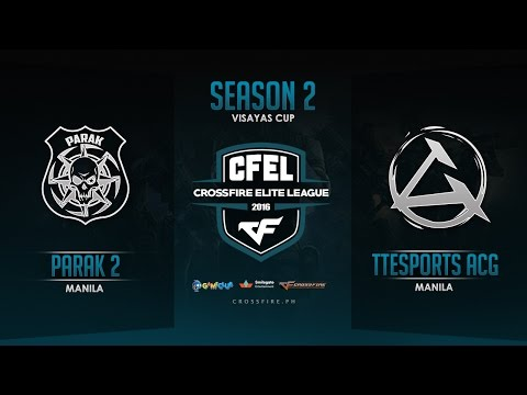Parak 2 vs TTeSports ACGaming – Crossfire Elite League Mindanao Cup – Round 6 Match 4