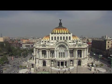 Exploring Mexico City's breathtaking architecture