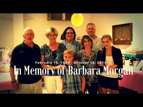 In Memory of Barbara Morgan