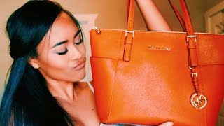 What's In My Bag? | Michael Kors Jet Set Tote | Summer 2015