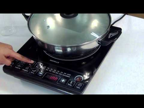 Havells Induction Cooktop- Demonstration Video