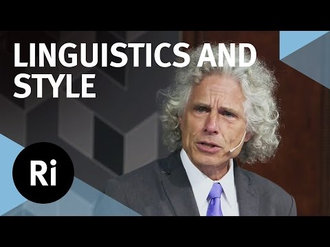 Linguistics, Style and Writing in the 21st Century  with Steven Pinker