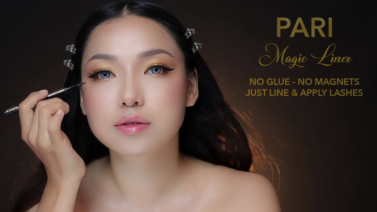 PARI MAGIC LINER | Don't know how to apply lashes? Your problem solved!