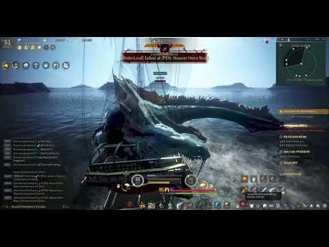 BDO Testing new battle ship system vs Seamonster