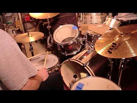 Led Zeppelin's  DARLENE  * Drum Lesson *