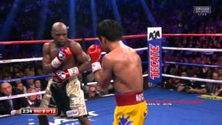 Manny Pacquio vs Floyd Mayweather Fight 2015
