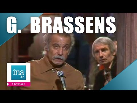 "Georges Brassens ""Les Passantes"" | Archive INA"