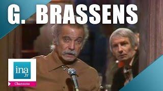 """Georges Brassens """"Les Passantes"""" (live) - archive vidéo INA"""