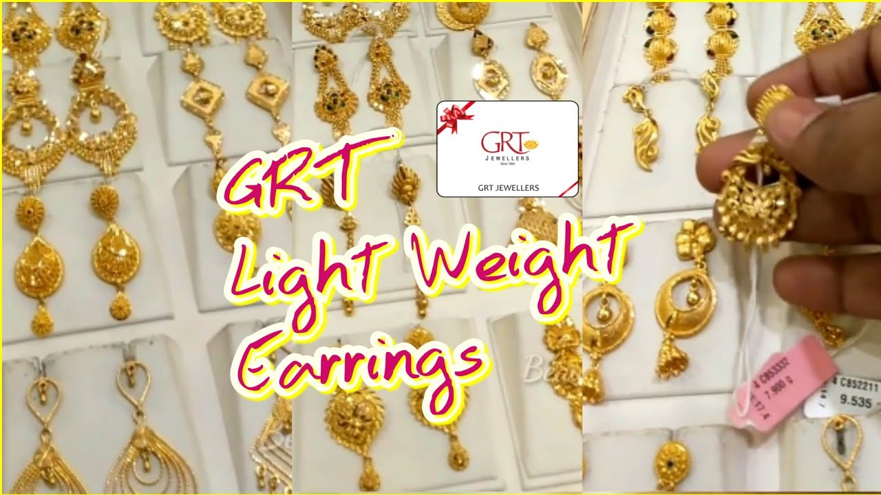 GRT Light Weight Earrings || Trendy Earring Collections || GRT ORIANA Collections