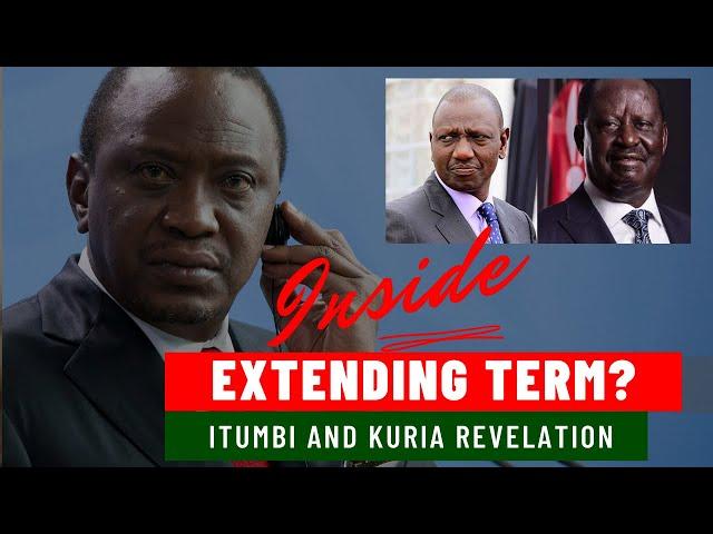 Dennis Itumbi and Moses Kuria Reveals Secret Plans to Extend Uhuru Kenyatta Term in Office