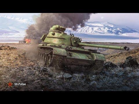 World of Tanks Blitz - 59-Patton !