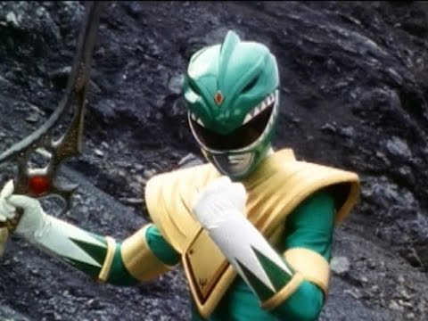 Power Rangers vs Evil Green Ranger Battles | Mighty Morphin Power Rangers