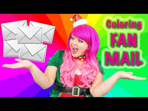 Opening Your Fan Mail | Custom Fan Art, Coloring & More! Prismacolor Pencils | KiMMi THE CLOWN