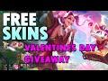 Heartseeker/Sweetheart FREE Skins Giveaway League of Legends Season 10 FREE Skin LOL S10 Jinx ADC