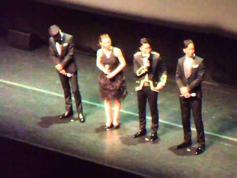 20130727 Nazotoki wa Dinner no Ato De World Movie Premiere Interview at Sands Theatre