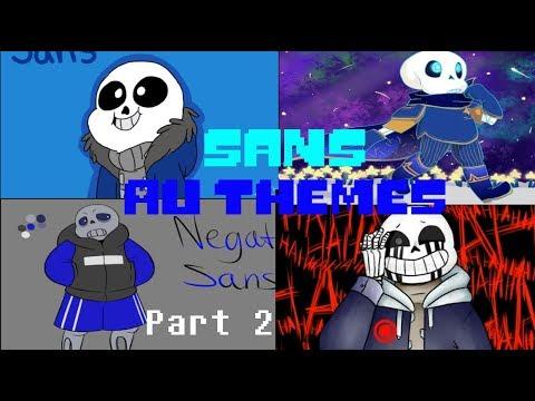 Sans AU All Themes! - Part 2 (Megalovania)