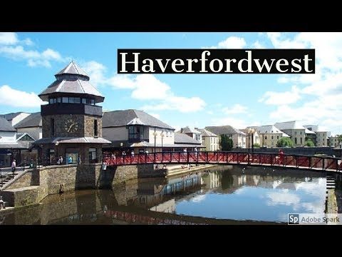 Travel Guide Haverfordwest Town Centre Pembrokeshire South Wales  UK Review