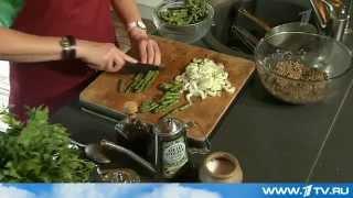Салат из чечевицы со спаржей от Ольги Баклановой (Вся Соль)