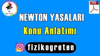Newton Yasaları Konu Anlatımı  PDF  TYT Fizik