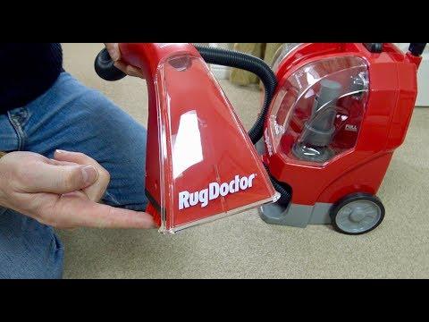 Rug Doctor Portable Spot Cleaner Unboxing & Demonstration