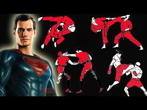 How Many Fighting Styles Does Superman Know In Justice League?