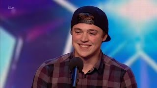 Craig Ball - Britain's Got Talent 2016 Audition week 3 thumbnail