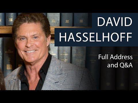 David Hasselhoff | Full Address and Q&A | Oxford Union