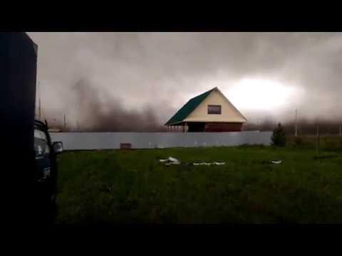 Ураган в Свердловской области