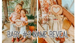 BABY NAME REVEAL! || HAYLEY JANNISE