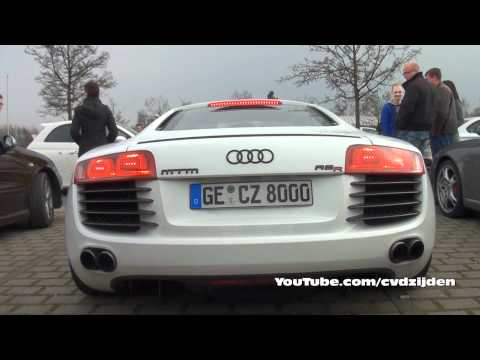 Audi R8R MTM Supercharged loud Sounds!!
