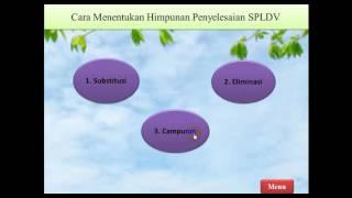 Video PPT Materi SPLDV
