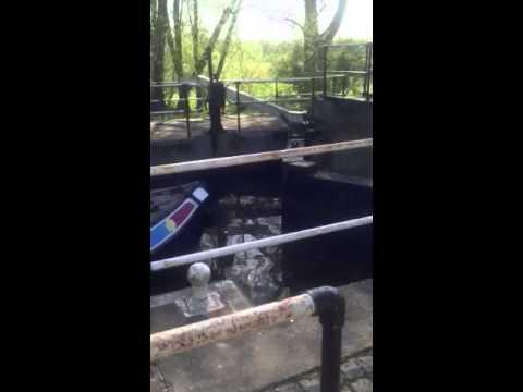 Geekier out watching a river lock