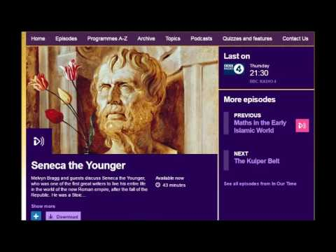 BBC - In Our Times - Seneca the Younger